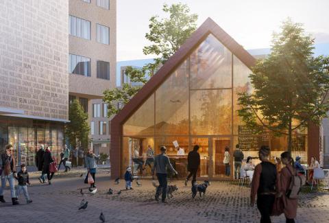 Nu invigs det nya Fiskhuset på Selma Lagerlöfs Torg