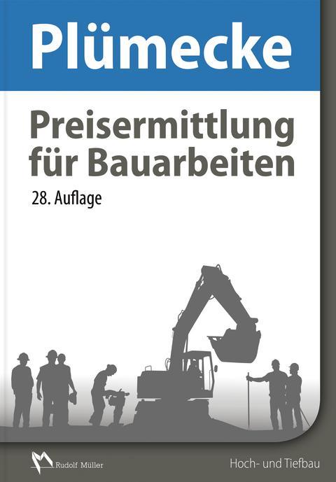 Plümecke – Preisermittlung für Bauarbeiten, 28. Auflage (2D/tif)