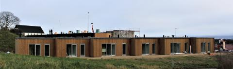 Rejsegilde på bæredygtige boliger i Østjylland