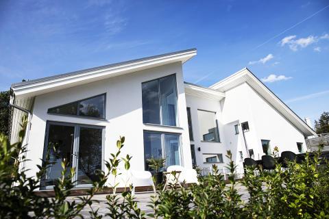DIY - Murt og pusset hus 1