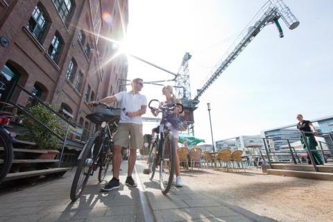Innenhafen Duisburg ©RuhrtalRadweg
