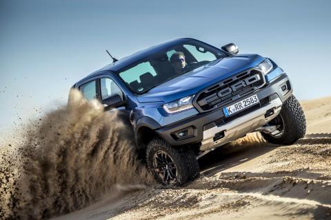 Le Ford Ranger Raptor, le pickup de l'extrême, débarque pour la première fois en Suisse