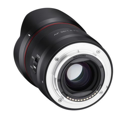Samyang AF 35mm F1.8 FE Product Image 07 - Mount