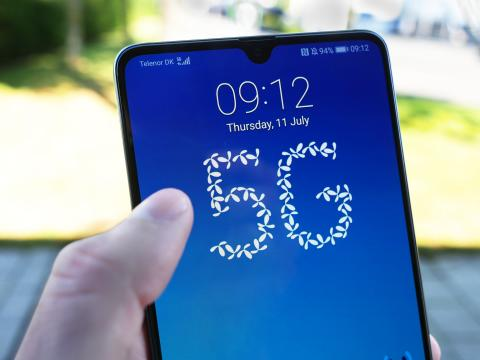 Telenor i luften med 5G