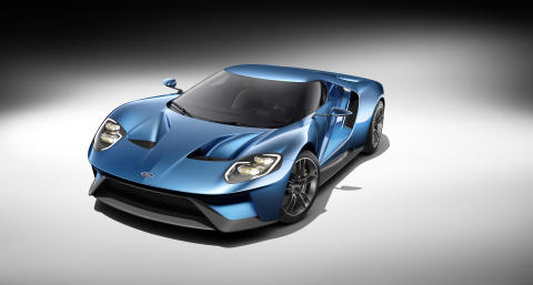 Ford Returning to Le Mans in 2016 with All-New Ford GT, Marking 50th Anniversary of 1966 Victory