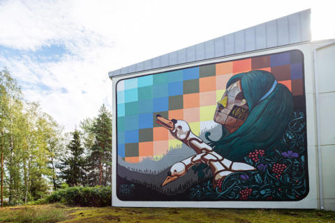 Ensimmäiset Upeart Festival 2019 -teokset hurmaavat Espoossa, Joensuussa ja Mikkelissä