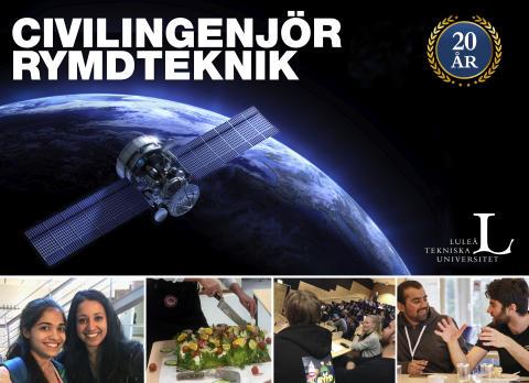 Sveriges civilingenjörsutbildning Rymdteknik firar 20 år