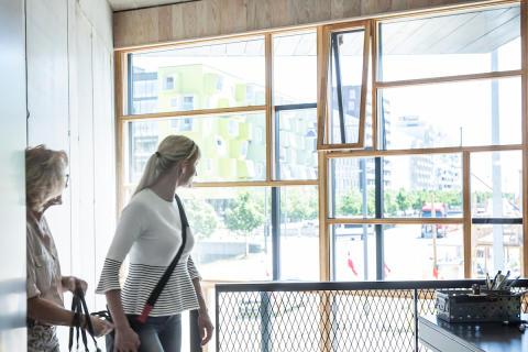 Upcyclet vinduesglas fra Nordjylland får nyt liv i Upcycle Studios
