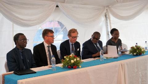 Scandinavian Biopharmas prövningsprogram i Afrika invigdes av Hälsoministeriet i Zambia tillsammans med den Svenska Ambassadören
