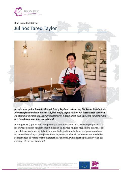 Jul hos Tareq Taylor