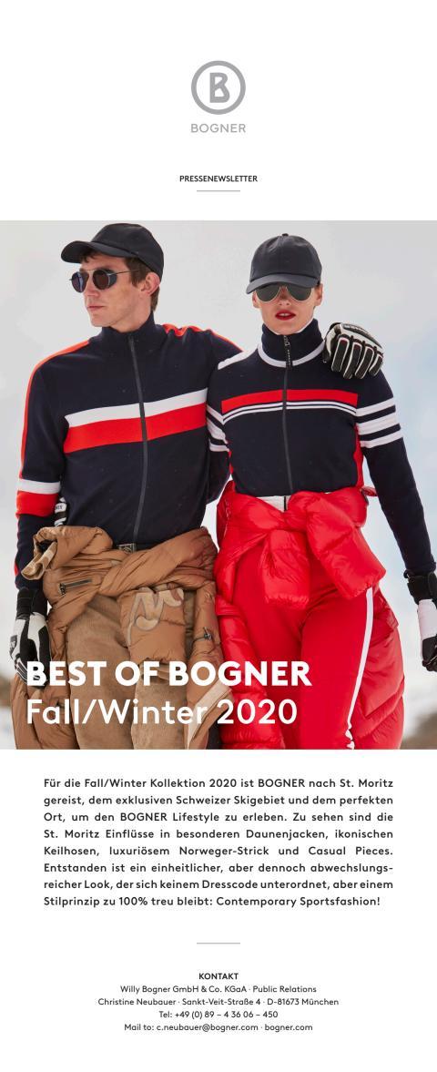 BEST OF BOGNER Fall/Winter 2020