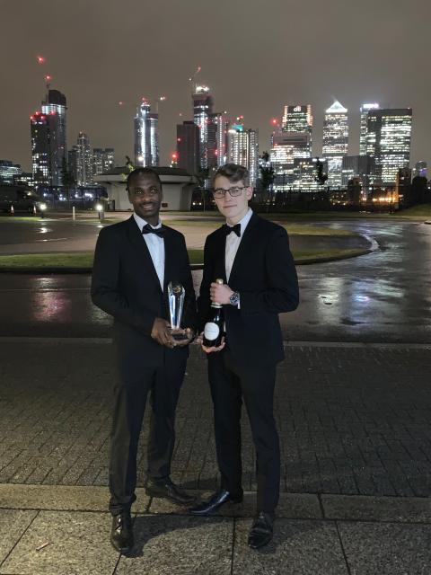 DLG Auto Services' Nemhoy McCooty named Thatcham Research Apprentice Mentor of the Year