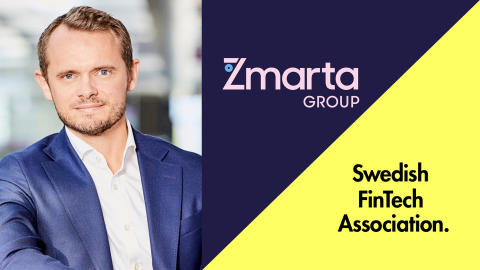 Zmartas VD tar plats i SweFinTechs styrelse