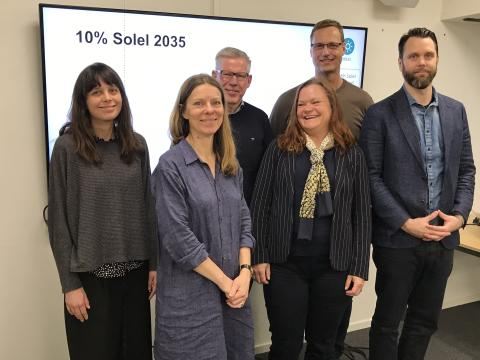 Solcellsmål i Helsingborg 2035