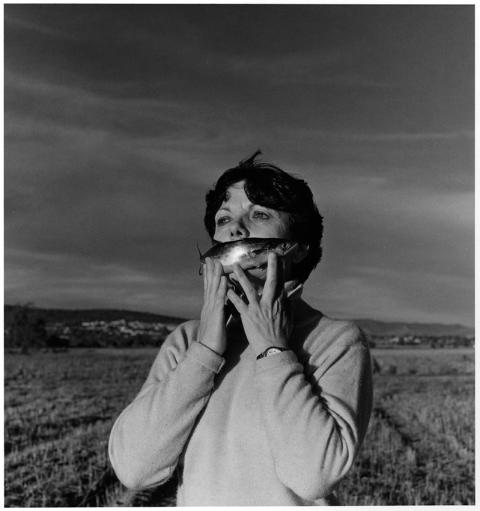Graciela Iturbide, Self Portrait In The Country, 1996