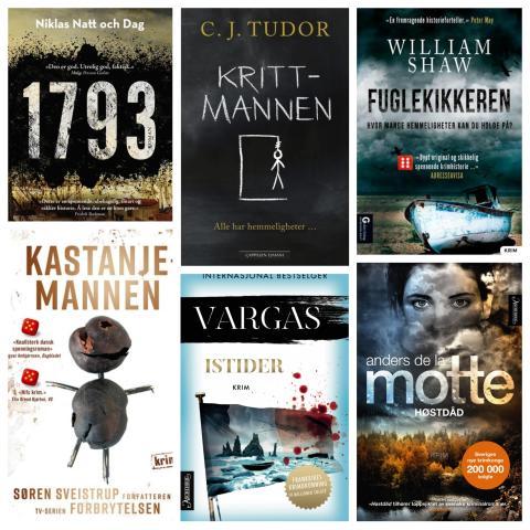 Seks nominerte til Gullkulen for beste oversatte krimroman 2018