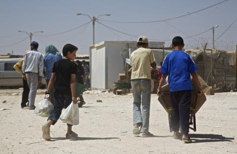 Hotande hungersnöd bland Syriens barn