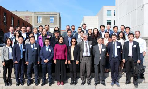 Besøg fra det kinesiske energiministerium