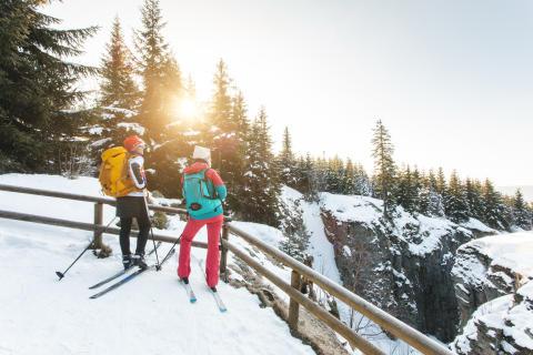 Winterabenteuer im Erzgebirge