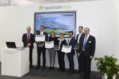 ZÜBLIN awarded 2019 German Steel Construction Industry Engineering Prize