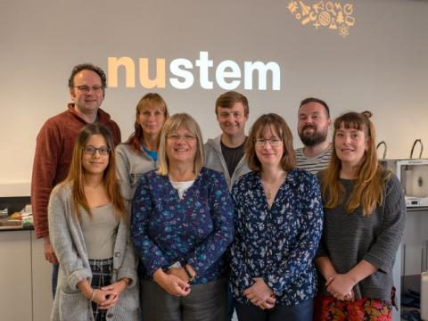 The NUSTEM team from Northumbria University