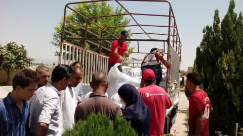 Flyktingsituationen i norra Irak förvärras