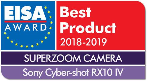 EISA Award Logo Sony Cyber-shot RX10 IV dropshadow