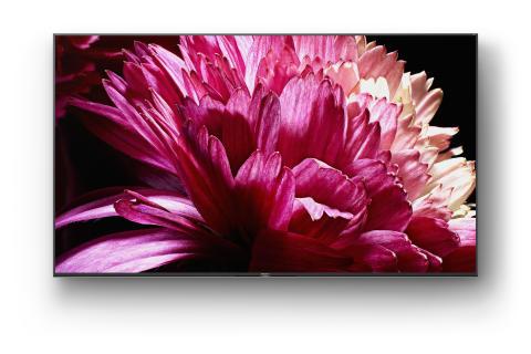 I TV Full-Array 4K HDR Serie XG95 di Sony, tra i modelli di punta della gamma, presto disponibili nei negozi