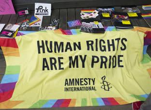 Amnesty agerar för HBTQI-personer i Japan