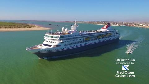 Fred. Olsen Cruise Lines launches new six-month sponsorship of Channel 4's 'Life in the Sun' TV series