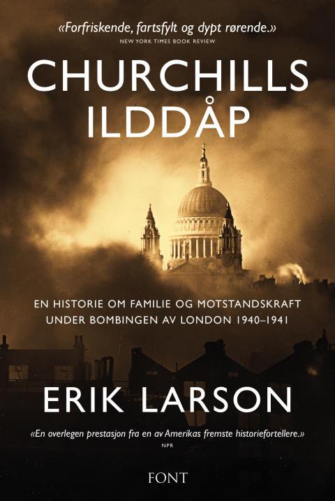 Ny bok går tett på Churchill og hans første år som statsminister