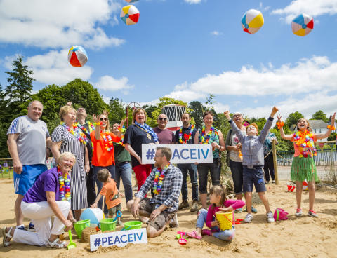 People's Park Awash with colour during summer thanks to Peace IV