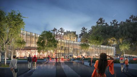 Kulturhuset Bergsjön får kollektivt skapad konstgestaltning