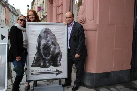 elecomms visits historic Trier for Elephant Parade auction