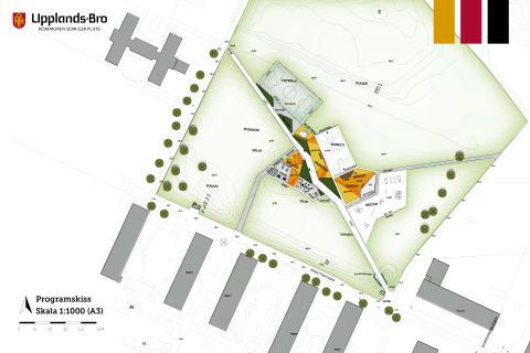 Första spadtaget för den nya aktivitetsparken i Bro