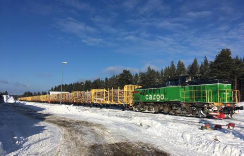 Domsjö Fiber väljer järnvägstransporter genom nytt avtal med Green Cargo