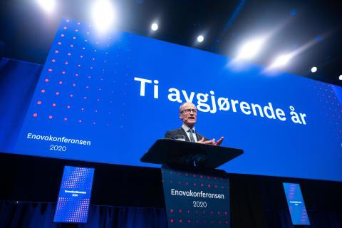 Nils Kristian Nakstad på Enovakonferansen 2020