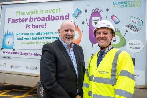 The reach widens for superfast broadband