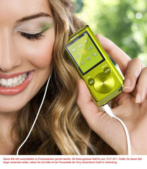 Walkman NWZ-E450 von Sony_Lifestyle_3