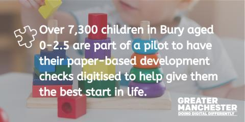 Bury in national 'first' to use new technology to help our children