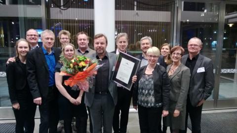 UmeNet prisas som Årets Stadsnät 2012