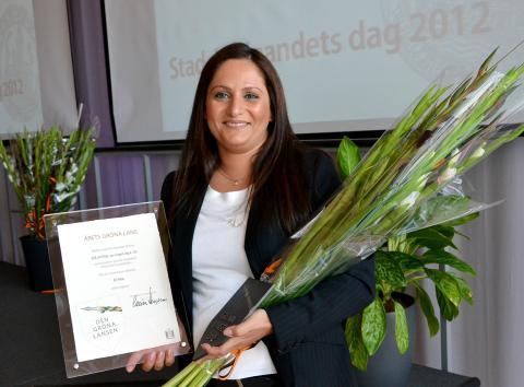 HSB brf Hilda tilldelas Malmös Gröna Lansen-pris