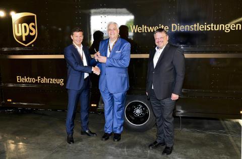 UPS testet neues E-Fahrzeug in Köln