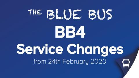 BB4 Service Changes