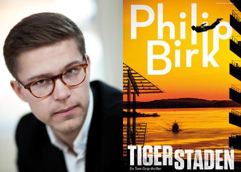 Rosade deckarförfattaren Philip Birk släpper ny bok om beryktade konsttjuven Tom Grip