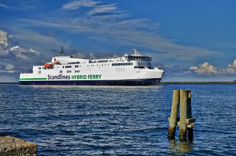 M/F Berlin Scandlines Hybrid Ferry