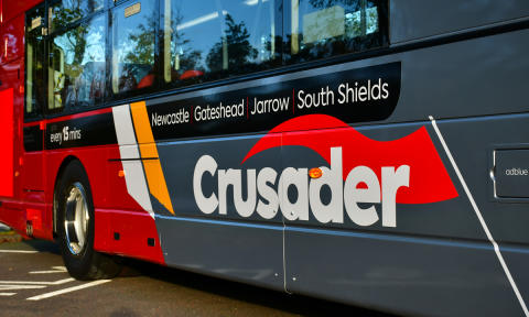 Go North East route that serves South Shields, Jarrow, Gateshead and Newcastle goes up in the world with double-deck buses