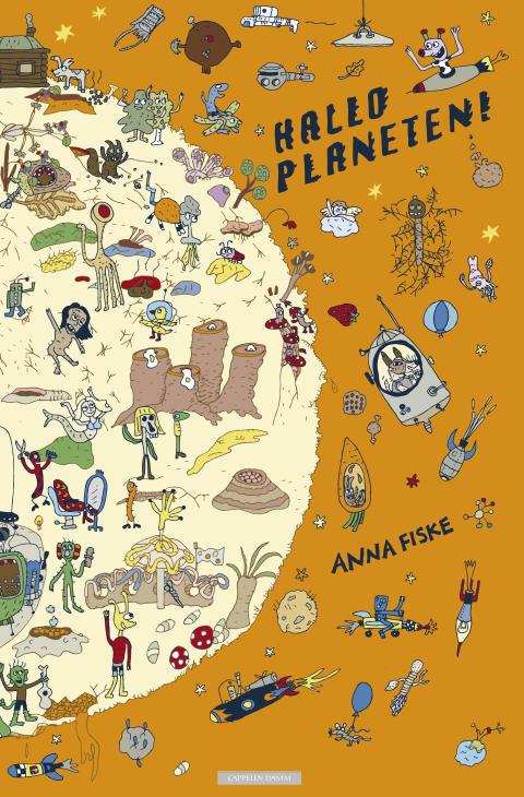 Hallo planeten! av Anna Fiske