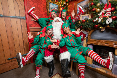 Santa Claus and his elves settle into their new home at Center Parcs Longford Forest