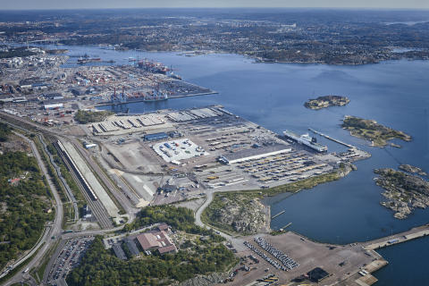 Increased traffic between Gothenburg and Belgium